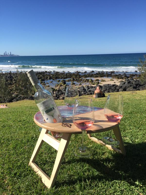 Summer Picnic Table Green Reshape Organics